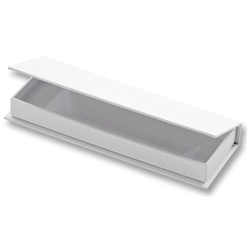 Folia 3314Geschenkpapier Box Geschenkbox aus Karton–Geschenk verpacken (Geschenkpapier Box, weiß, Eintönig, Karton, alle Anlass, 190mm)