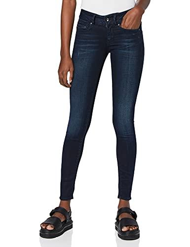 G-STAR RAW Damen Jeans Midge Cody Mid Waist Skinny, Blau (Faded Blue 5245-A889), 28W / 32L
