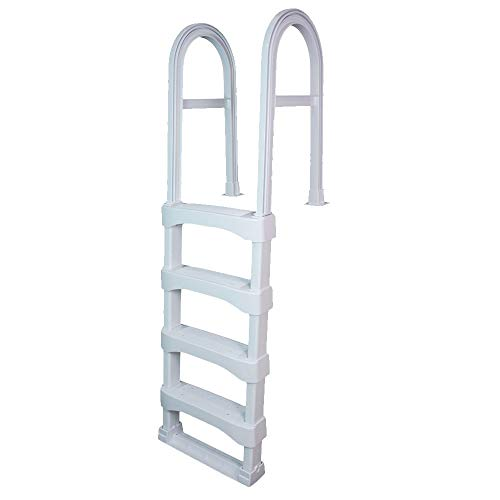 VinylWorks Canada SLD Snap-Lock Deck Ladder | White