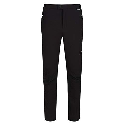Regatta HIGHTON Winter Trousers Hose Stretch Ultra Stretch Herren wasserabweisend und Schutz (UV) mit elastischem Bund und Reißverschlusstaschen, Schwarz, FR: 3XL Hersteller: 40