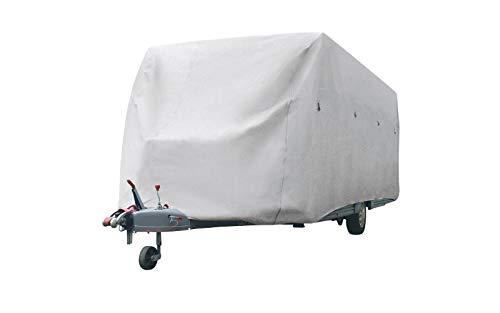 Berger Wohnwagen Schutzhülle Winterabdeckung Caravan Wohnwagen Abdeckung Schutzhaube Garage (640 cm)