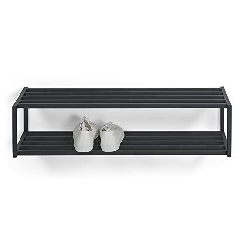 Spinder Design SR985-22 Zapatero, Acero, Negro, 30,5 x 78 x 20,5cm