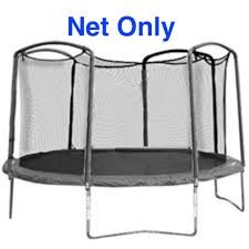 15 ft. Round Replacement Trampoline Net for 4 Arch Enclosure System (JumpKing FunRing / Bazoongi)