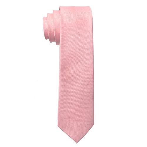 MASADA Corbata para Hombre elaborada a mano y con gran esmero 6 cm de ancho - Rosa pastel