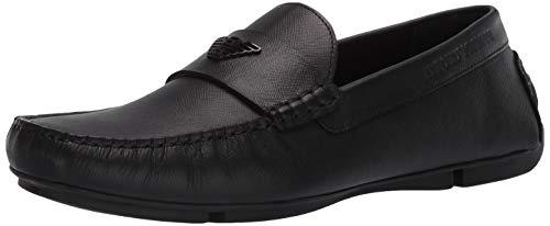 Emporio Armani Loafer für Herren mit Logo, Schwarz (schwarz), 43 EU
