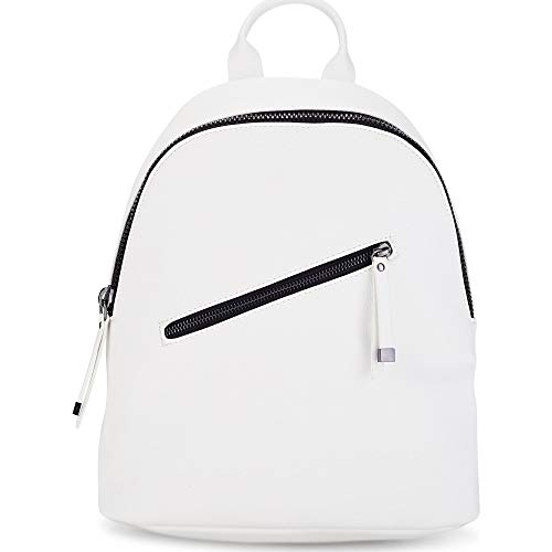 Cox Damen Trend-Rucksack Weiß Synthetik 1