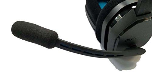 ienza Microphone Wind Pop Filter WindScreen Mic Foam for AstroA10 A10 Headsets