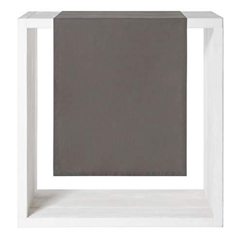 Proflax Tischläufer CHIC | 838 Grey - 50 x 160 cm