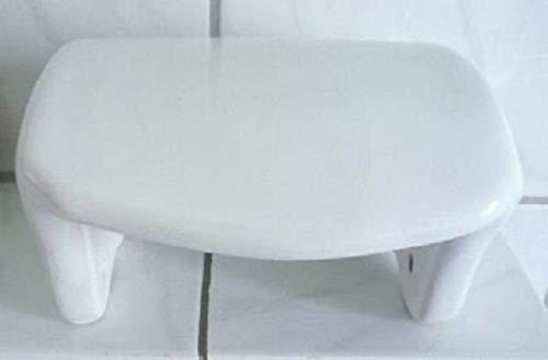 Wiegand Achtung: Der Artikel Weist kleine Fehler auf - Toilettenpapierhalter aus Keramik Dekor weiß Form glatt leicht gewölbt