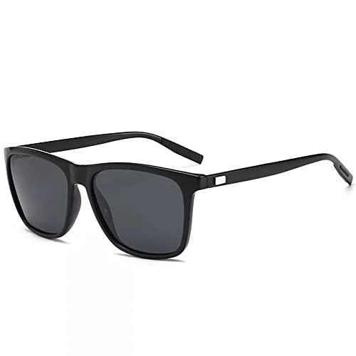 YTYASO Gafas de Sol Unisex de Aluminio + TR90 para Hombre, Lentes polarizadas, Accesorios para Gafas, Gafas de Sol
