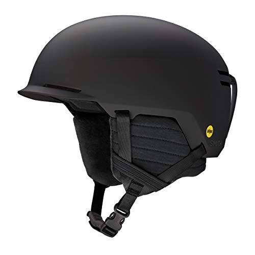 Smith Optics Scout MIPS Adult Snowboarding Helmets (Matte Black, Small 55-59cm)