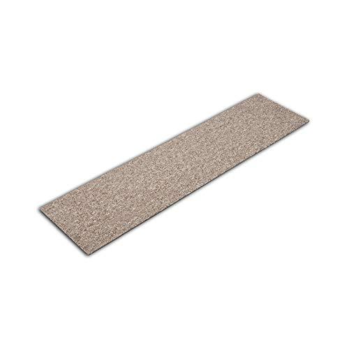 Teppichdielen Pine | Teppichfliesen selbstliegend | Robust & antistatisch | In 3 Farben erhältlich (10 Fliesen | 2,5 m², Beige 155)