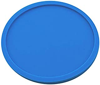 New Kitchen Round Thick Silicone Coaster Cup Place Mat Anti-slip Mat Washable XM (