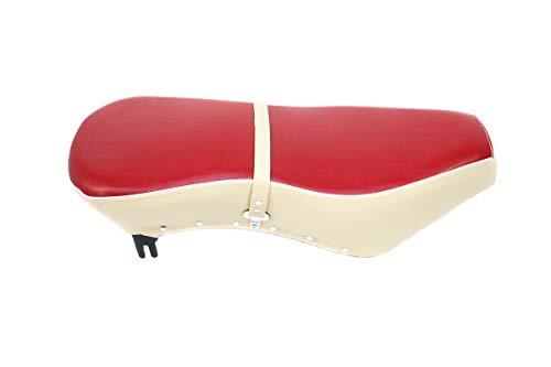 Sitzbank für AWO Sport - rot-beige