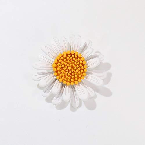 WWWL Brosche 2 Stück Mode gelb Sonnenblume Broschen für Frauen Delikatesse Blume Brosche Pins Pflanzenschmuck JJ9153