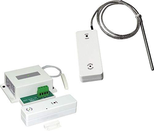 Bielmeier V Funk-Abluftsteuerung mit externer Antenne zum Einbau, mit Thermo-Sensor-Einheit / 854235