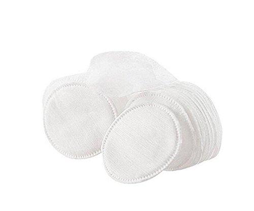 1 boîte (60PCS) 3 couche double face jetables maquillage coton rond tampons visage nettoyage en profondeur papier essuie-glace pour maquillage cosmétique vernis à ongles yeux et lèvre enlever
