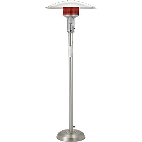 Best Review Of Sunglo 50000 Btu Natural Gas Patio Heater - Stainless Steel