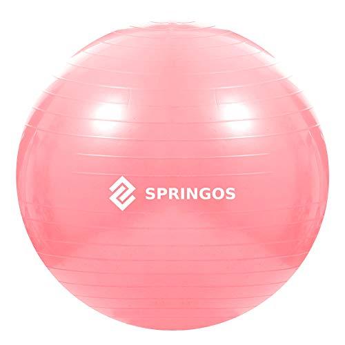 SPRINGOS - Pelota de gimnasia, pilates, pelota deportiva, yoga