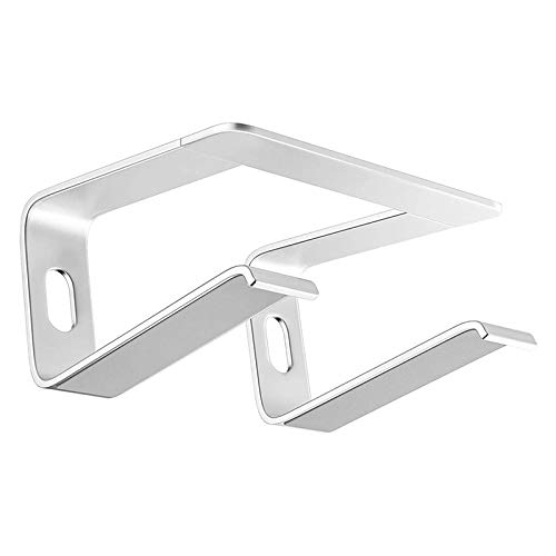 LIZONGFQ Laptop Stand Is Suitable for Desk Standpipe Stand Ergonomic Aluminum Laptop Stand Is Suitable for Macbook Air Pro 10-18 Inches