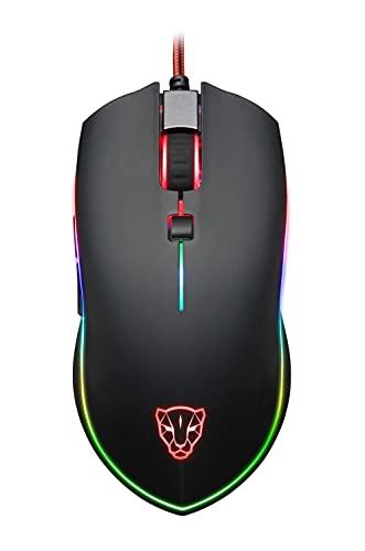 Mouse Motospeed V40 RGB Gamer com Macro