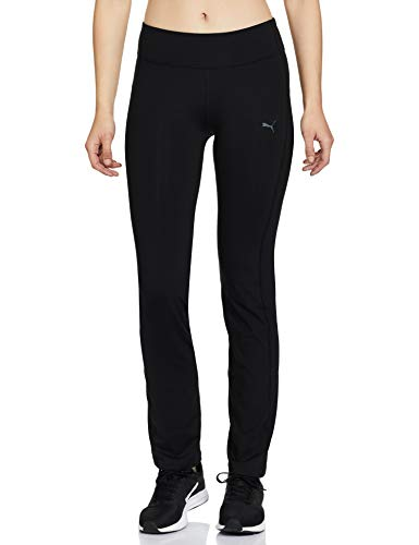PUMA Damen WT ESS. Straight Leg Pant Hose, Black, XL