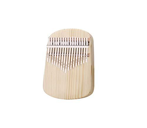 ZQYBH Kalimba, elegante houtnerf 17-tone Kalimba, geschikt voor beginners om te spelen Thumb piano 1