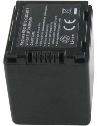 Batterie pour TOSHIBA GIGASHOT GSC-K80H, Haute capacité, 7.2V, 2400mAh, Li-ion