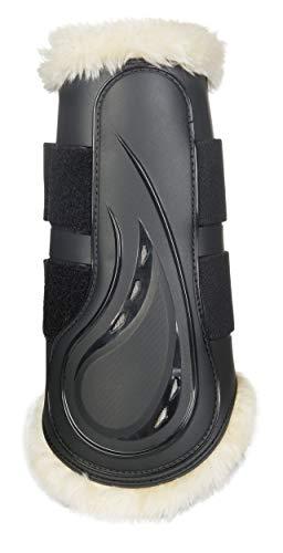 HKM Dressur Gamaschen -Comfort- mit Schlagschutz, schwarz, L