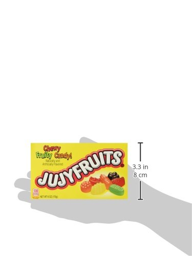 JujyFruits Chewy Fruity Candy (5 oz Boxes) 3 Pack