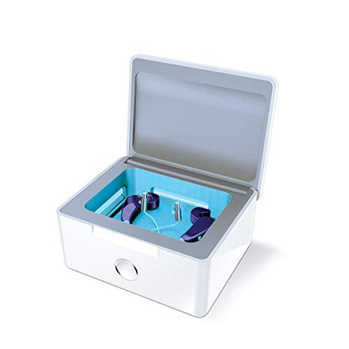Perfect Dry Lux, Deshumidificador, Desinfectante, Esterilizador con luz UV para Aparatos Auditivos y Audífonos