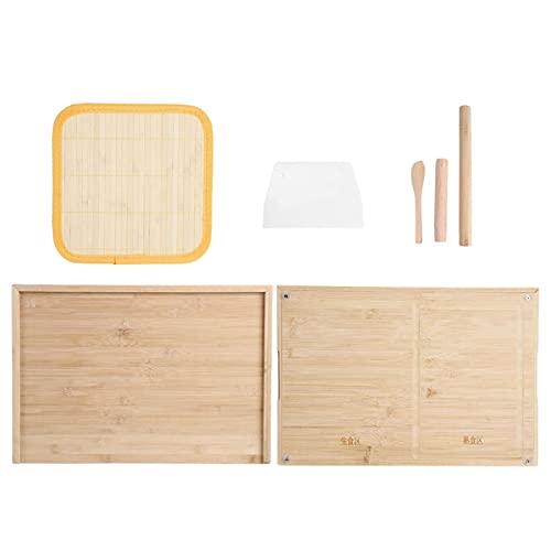 Tabla de cortar de bambú con Juego de tabla de cortar multifunción Tablas de cortar para cocina