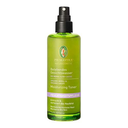 PRIMAVERA Feuchtigkeitspflege Belebendes Gesichtswasser Neroli Cassis 100 ml - Naturkosmetik - erfrischend für normale bis trockene Haut - vegan