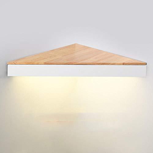 Wandleuchte Wandleuchte Im Nordischen Stil Persönlichkeit Kreatives Protokoll Geometrisches Regal Schlafzimmer Nachttischlampe Eckleuchte Im Japanischen Stil-Weißneutrales Licht_40Cm