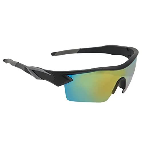 Gafas de Sol de Ciclo, Gafas de Sol polarizadas Antideslizantes de los Deportes de Las Patillas para Pescar