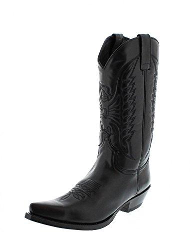 Sendra Boots 2073, Stivali Western Unisex Adulto, Nero (Snowbut Negro), 38