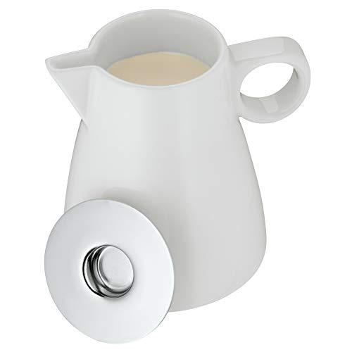 WMF Barista Sahnekännchen mit Deckel, 130 ml, Milchkännchen, Porzellan, Sahnekanne spülmaschinengeeignet