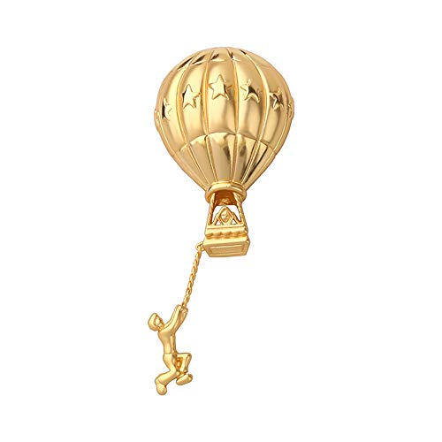 Fantex 18K Delicately Made Brooch Pins for Women Fashion, Fine Clothing Jewelry Accessories (Palace Tassels)