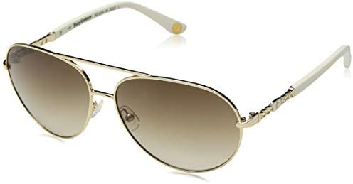 Juicy Couture Women s JU582 s Aviator Sunglasses Gold Ivory 58 mm product image