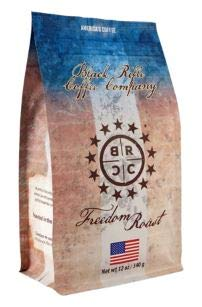 Black Rifle Coffee Company Ground Coffee 12oz Bag (Freedom Blend Ground Coffee)