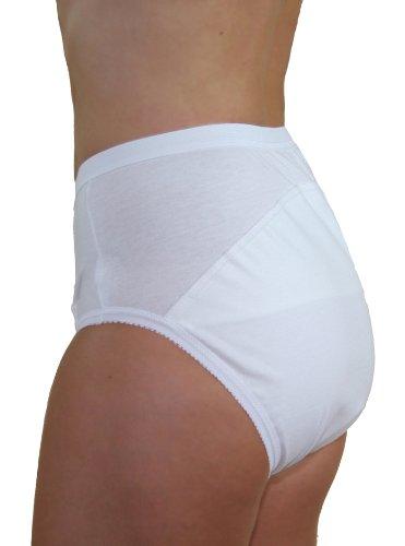 Hydas 0364.1.50 - Slip para incontinencia, lavable y permitido el uso de secadora, talla mujeres 50/52, hombres 58/60