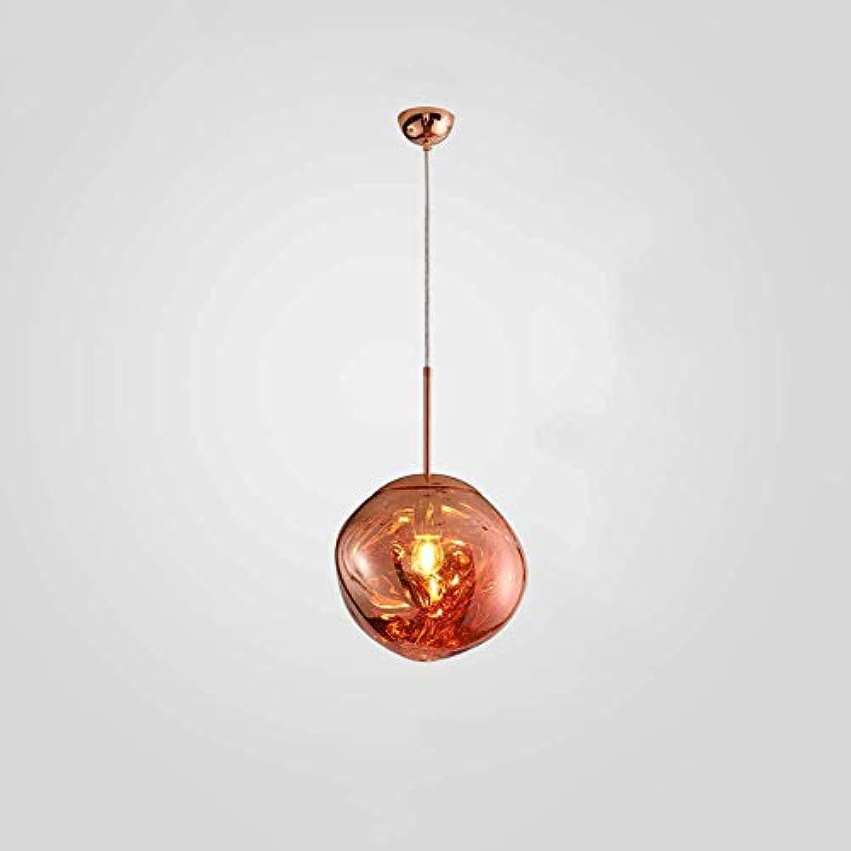Pendelleuchte Lava Glas Kugel Schatten Kreative Lampe Spiegel Hngen Schlafzimmer Bar Wohnzimmer Einzigen Kopf E27 Led Leuchten (Farbe   rot-20cm)