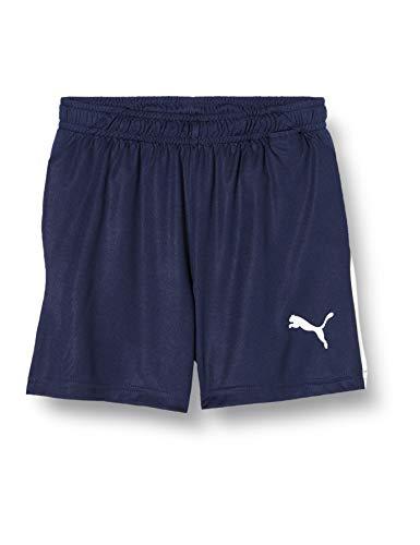 PUMA Kinder LIGA Shorts, Peacoat White, 128