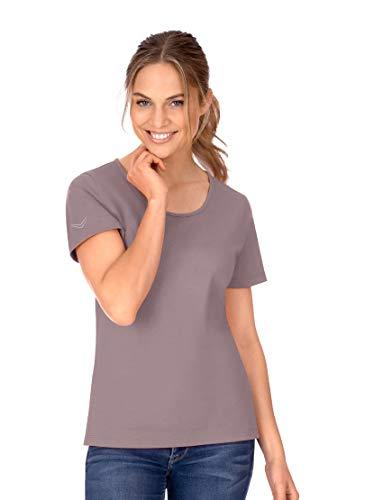 Trigema 539201 Camiseta, Camel-c2c, L para Mujer