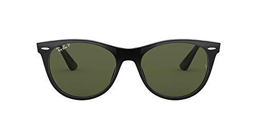 Ray-Ban 0RB2185 Gafas de sol, Black, 55 Unisex