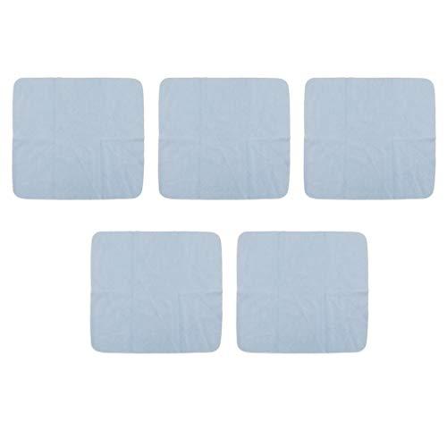 Sharplace 5x Lentes de Sol Antivaho Pañuelos Y Paños de Limpieza Toallitas de Limpieza de Terciopelo para Teléfonos