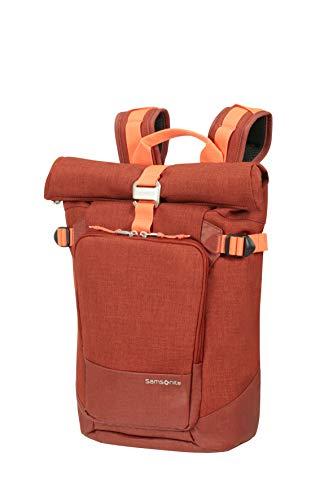 Samsonite Ziproll - Laptop Backpack Small Rucksack, S (37cm-19L), Orange (Burnt Orange)