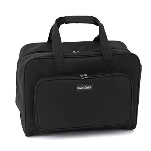 Hobby Gift - Bolsa de Transporte para máquina de Coser, Negro, 20x47x34