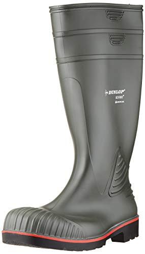 Dunlop A442631 S5 ACIF.KNIE GROEN 44, Unisex-Erwachsene Langschaft Gummistiefel, Grün (Groen) 08), 41 EU (7.5 UK)