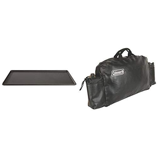 Coleman Triton? Series Griddle and Coleman Small Stove Carry Case Bundle